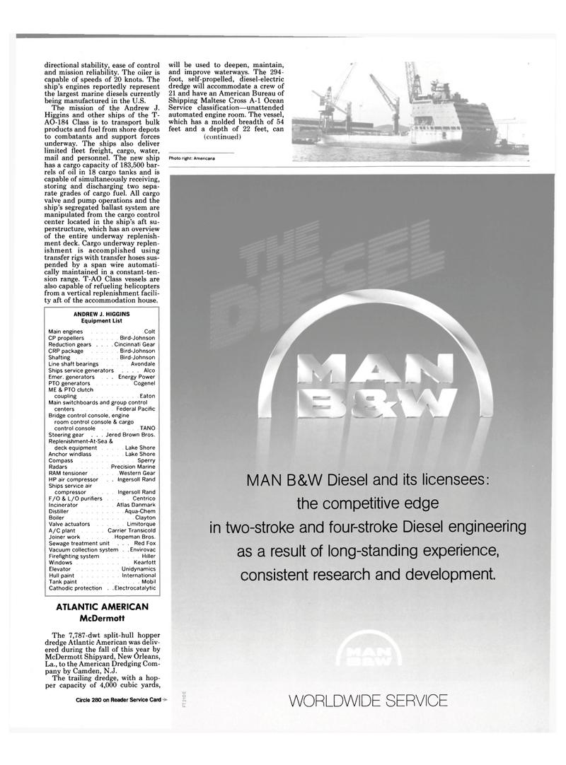 Maritime Reporter Magazine, page 9,  Dec 1987