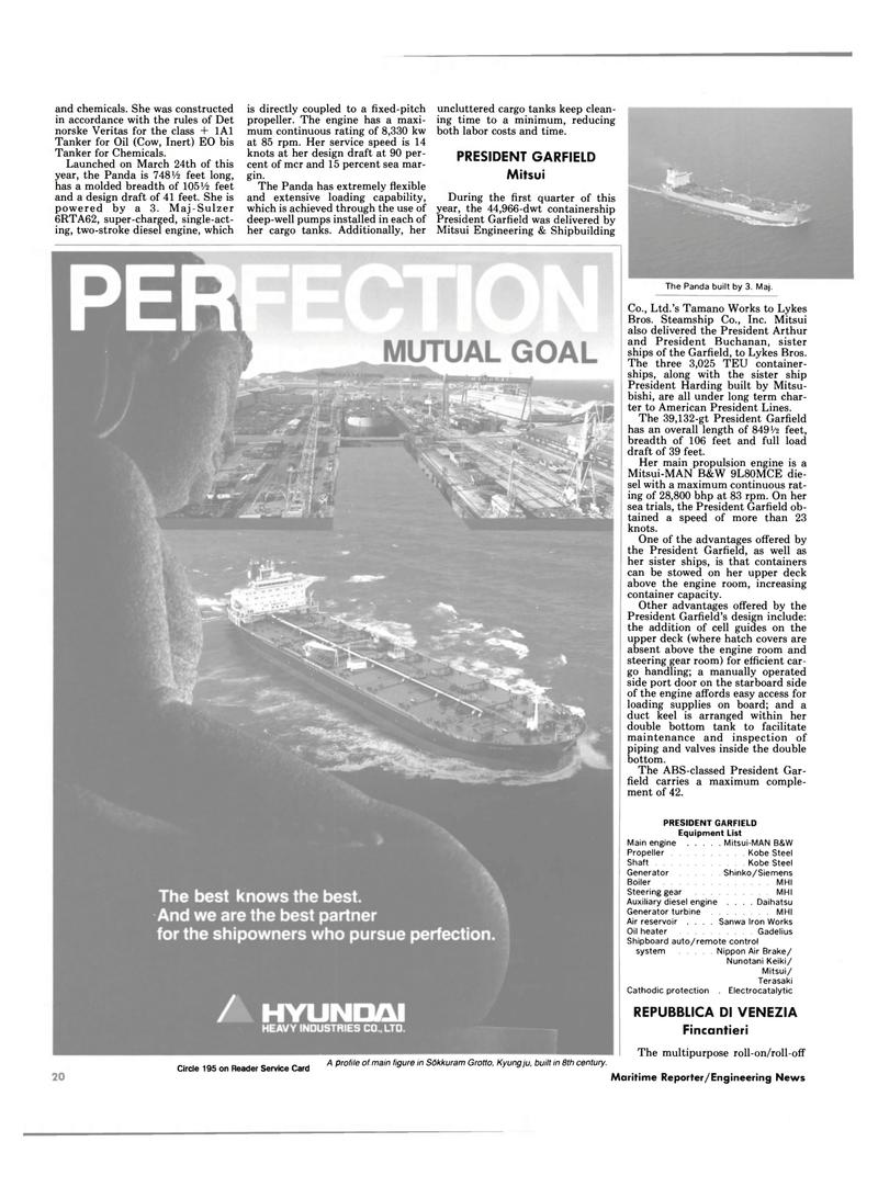 Maritime Reporter Magazine, page 12,  Dec 1987