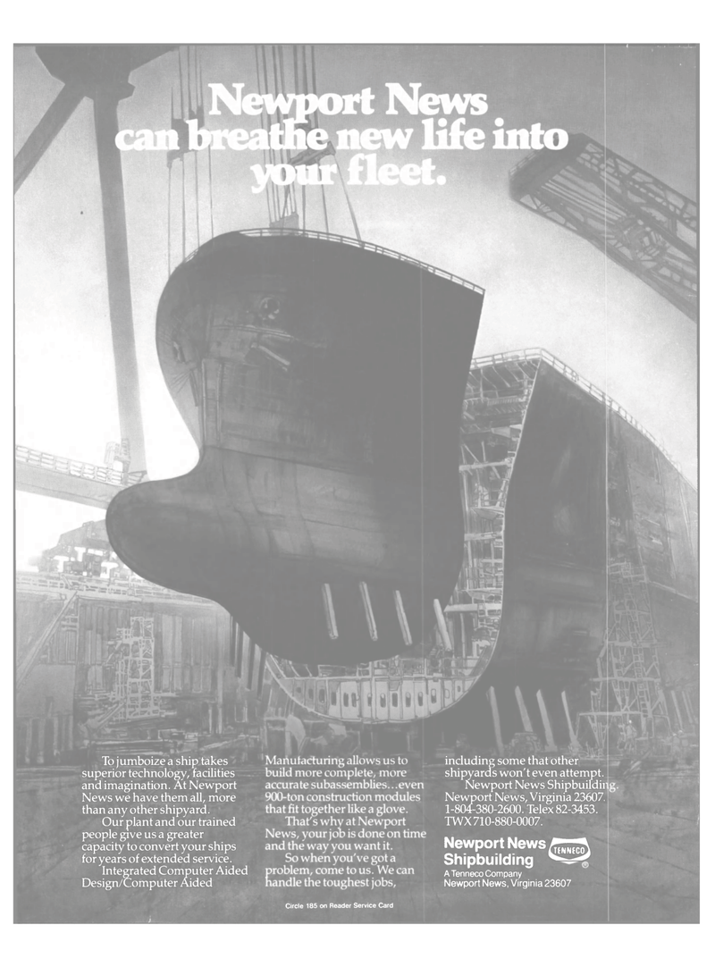 Maritime Reporter Magazine, page 2nd Cover,  Dec 1987