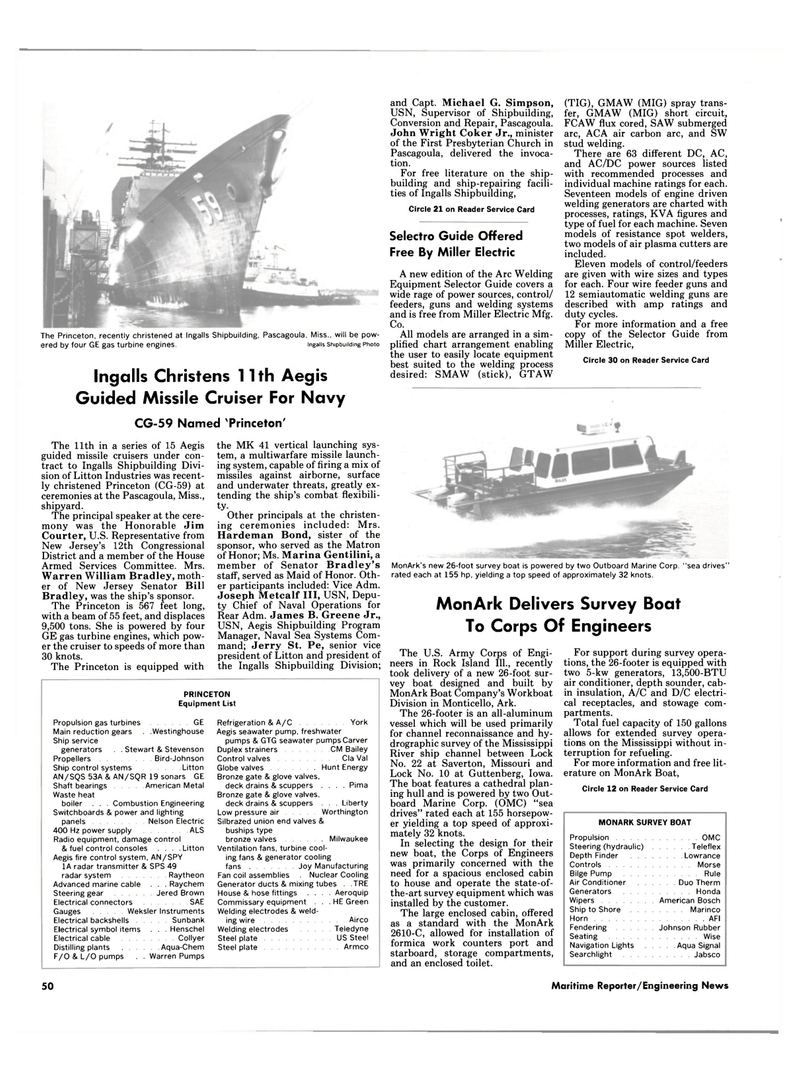 The Selector Guide Maritime Reporter Magazine December 1987 38 Omc Sea Drive Wiring Diagram 37 Page Dec Iowa