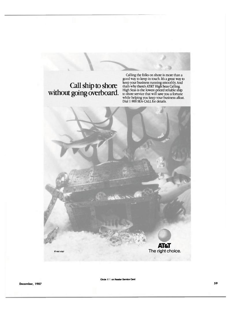 Maritime Reporter Magazine, page 47,  Dec 1987