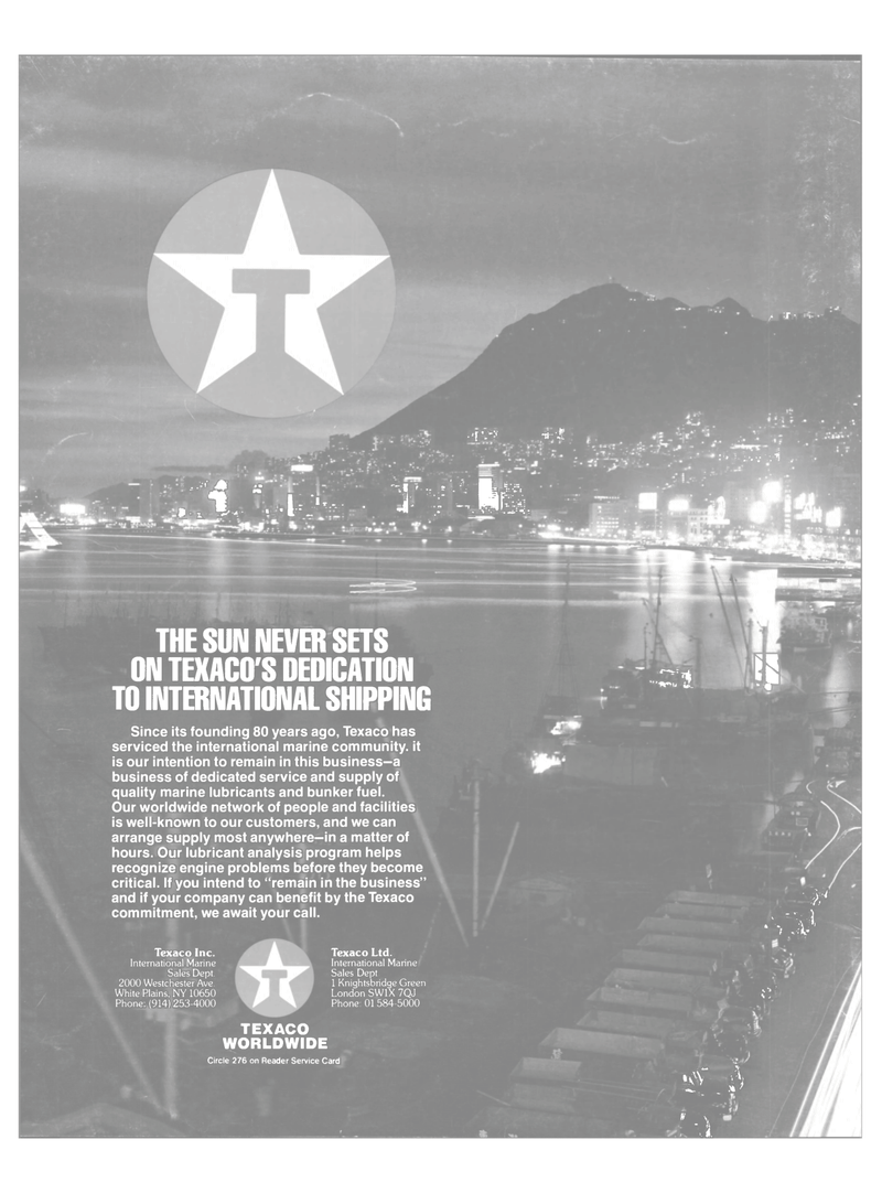Maritime Reporter Magazine, page 4th Cover,  Dec 1987