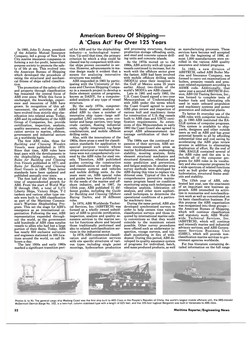 Gulf of Mexico, Maritime Reporter Magazine February 1988 #50