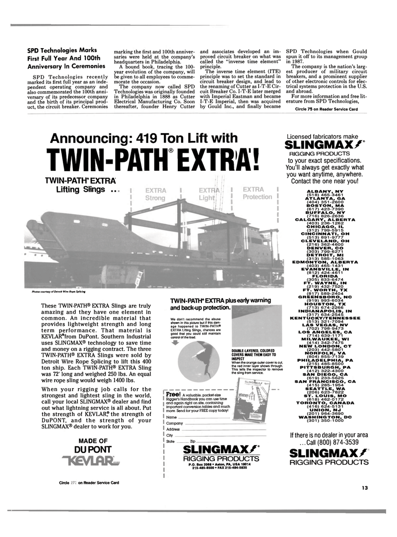 Maritime Reporter Magazine, page 11,  Feb 1989 Kentucky