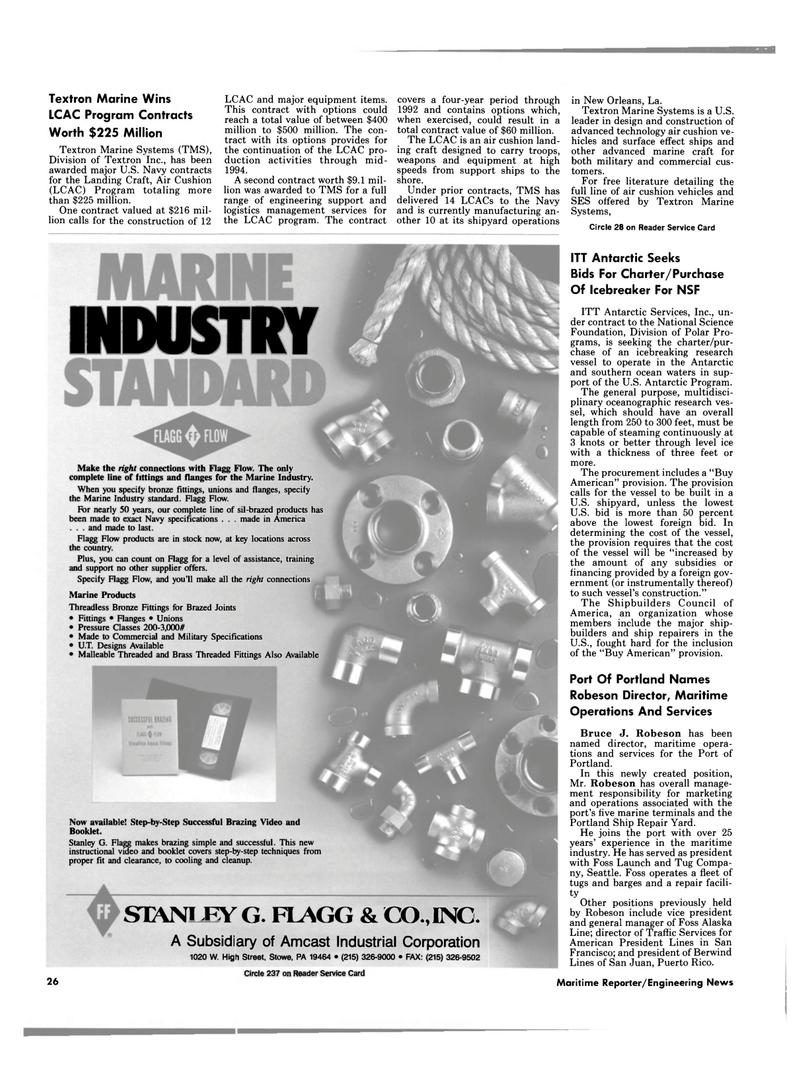 Maritime Reporter Magazine, page 24,  Feb 1989 Division of Polar Pro