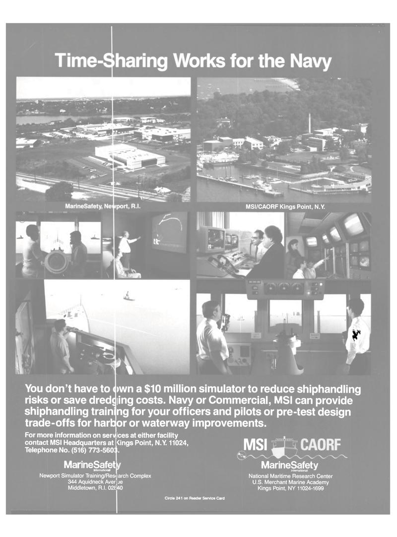 Maritime Reporter Magazine, page 26,  Feb 1989 National Maritime Research Center U.S. Merchant Marine Academy