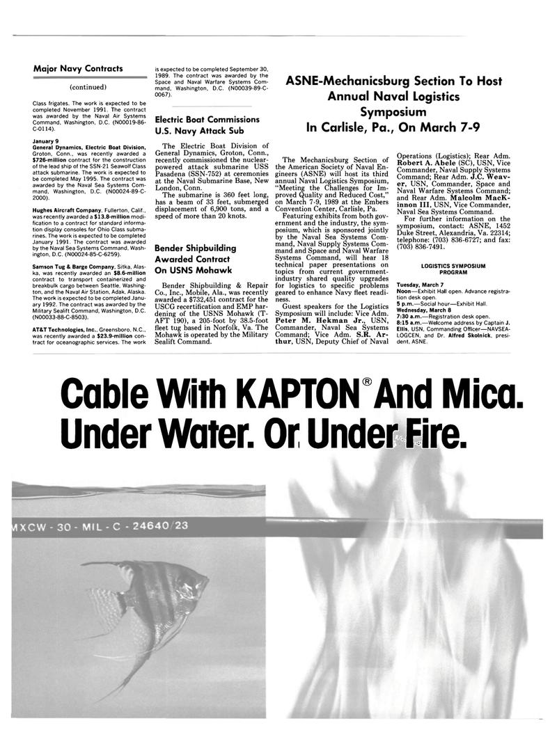 Maritime Reporter Magazine, page 30,  Mar 1989 Alaska