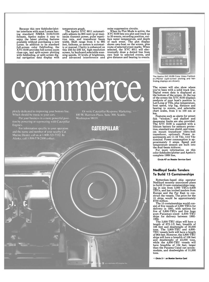 Maritime Reporter Magazine, page 17,  Apr 1989 Panama Canal
