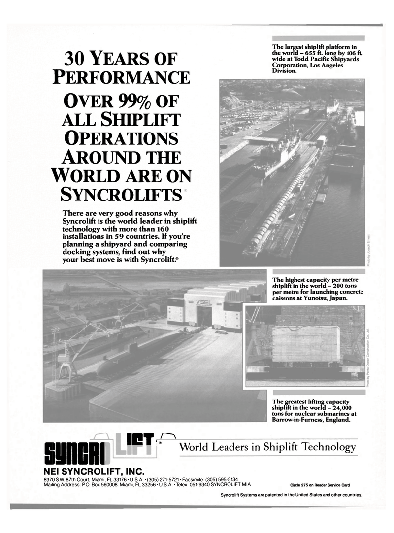 Maritime Reporter Magazine, page 25,  Apr 1989 United Kingdom