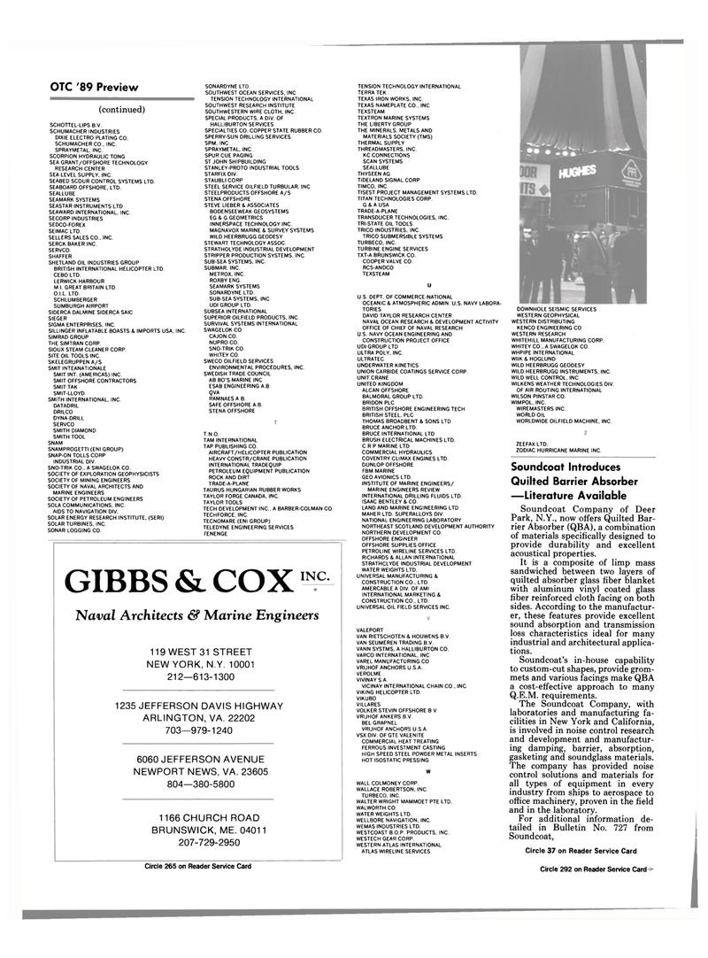 TENSION TECHNOLOGY, Maritime Reporter Magazine April 1989 #38