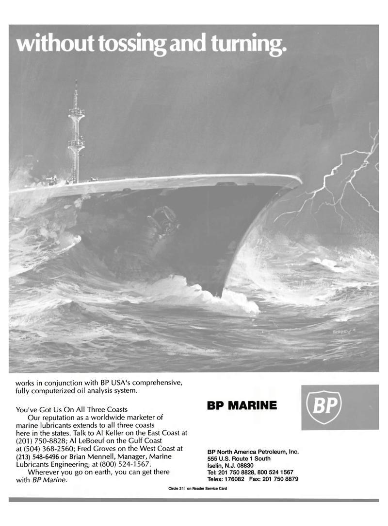 Maritime Reporter Magazine, page 43,  Apr 1989