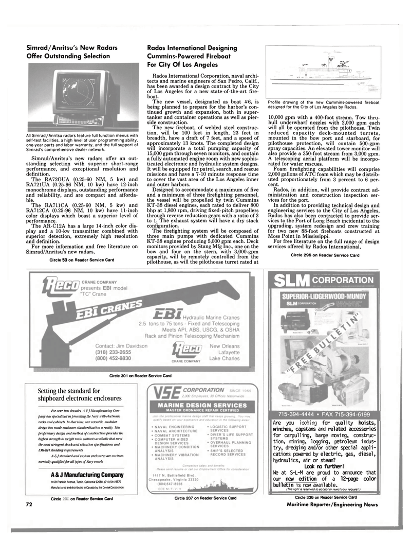 Maritime Reporter Magazine, page 70,  Apr 1989 dealer network