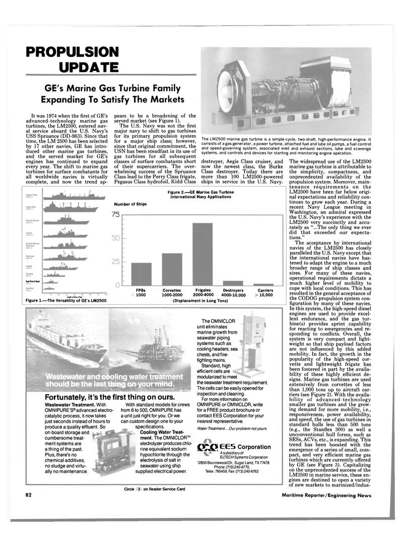 Maritime Reporter Magazine, page 80,  Apr 1989 Navy League