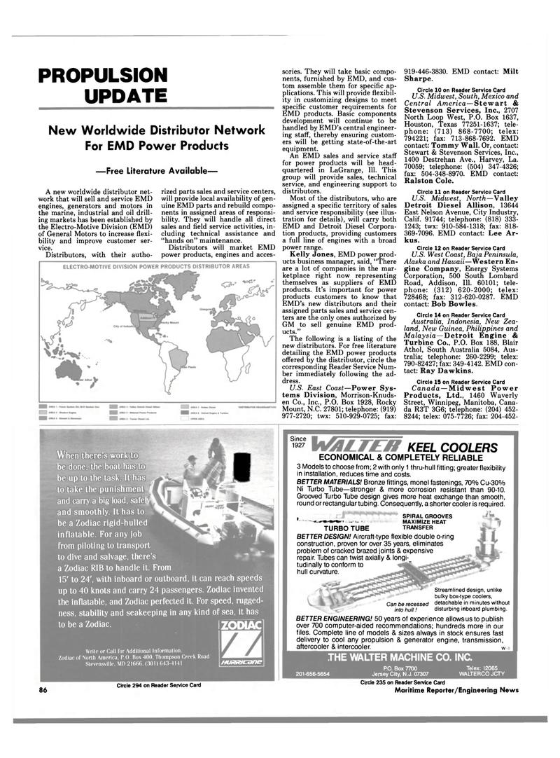 Maritime Reporter Magazine, page 84,  Apr 1989 Central America