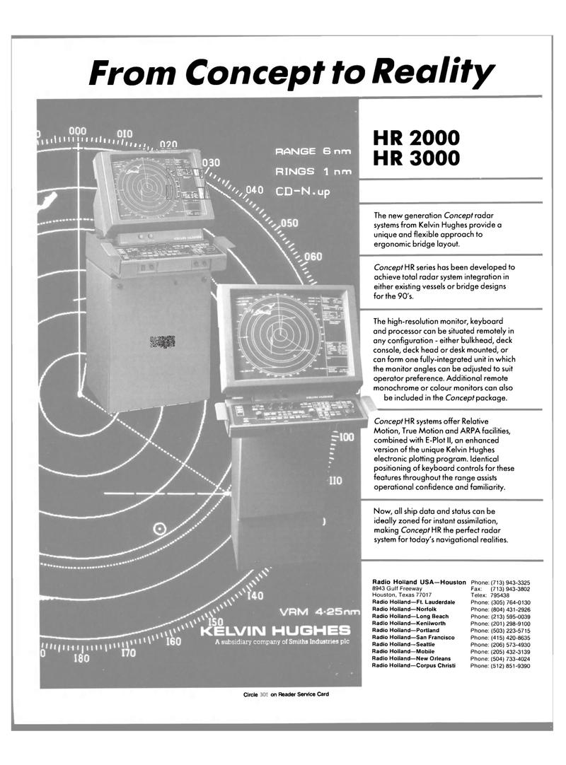 Maritime Reporter Magazine, page 13,  Jun 1989