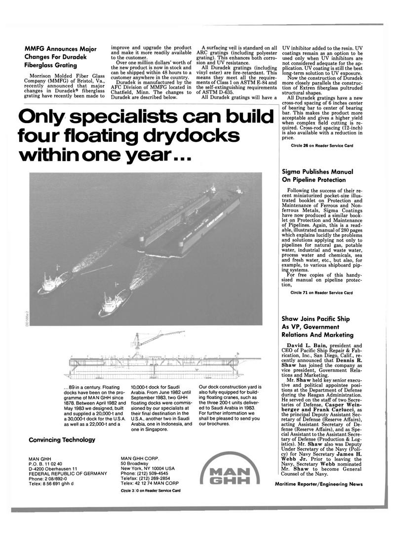 Maritime Reporter Magazine, page 18,  Jun 1989