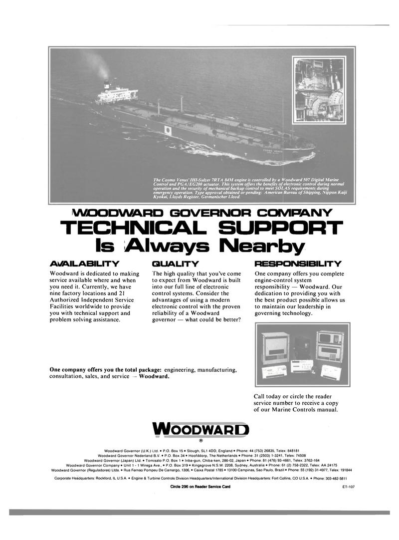 Maritime Reporter Magazine, page 23,  Jun 1989