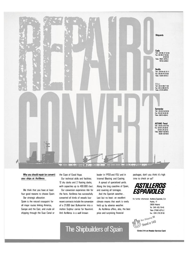Maritime Reporter Magazine, page 25,  Jun 1989