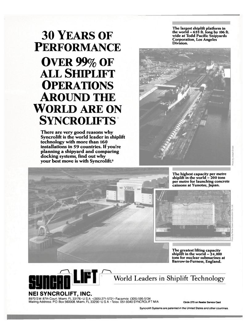 Maritime Reporter Magazine, page 27,  Jun 1989