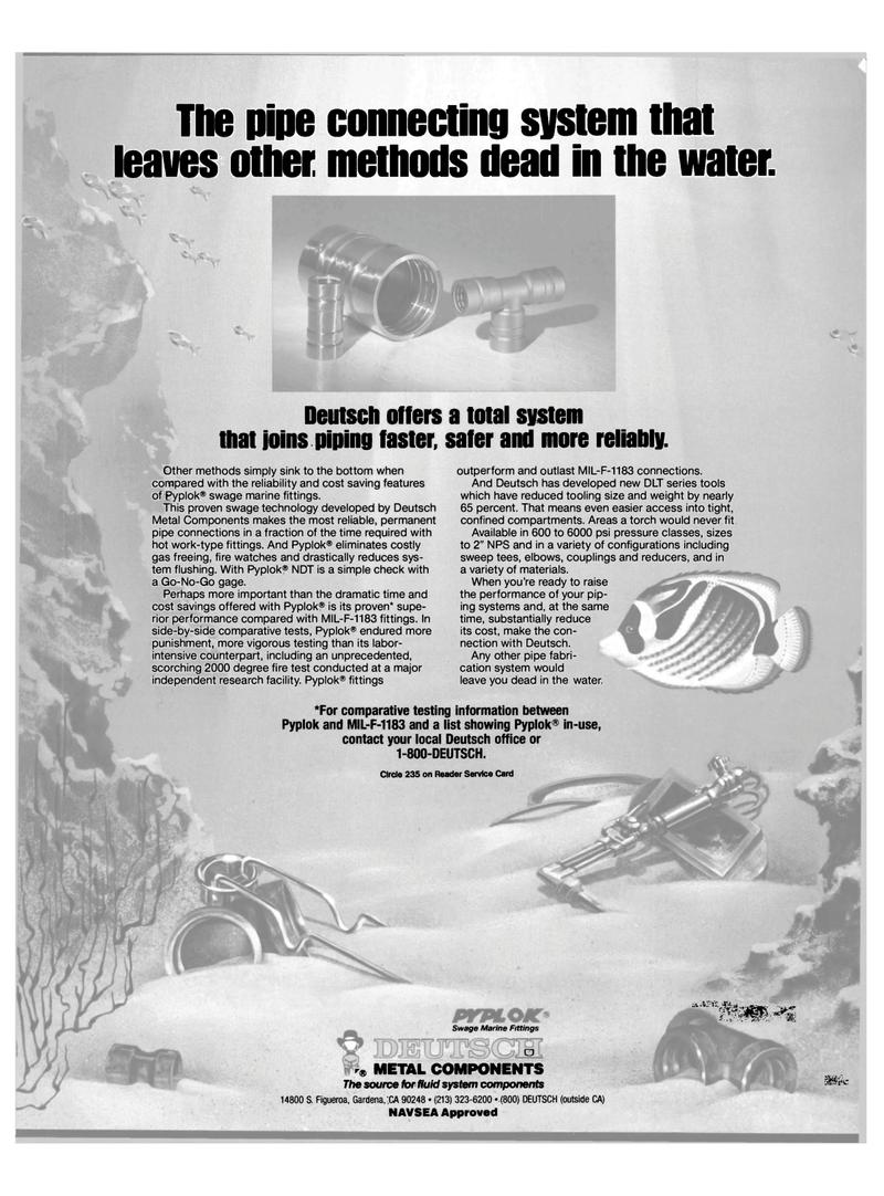 Maritime Reporter Magazine, page 1,  Jun 1989