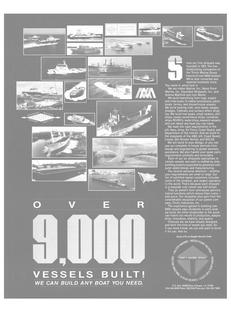 Maritime Reporter Magazine, page 31,  Jun 1989