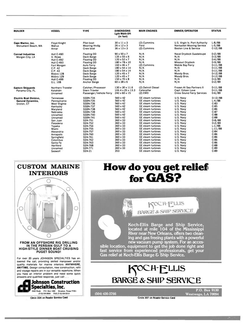 Maritime Reporter Magazine, page 32,  Jun 1989