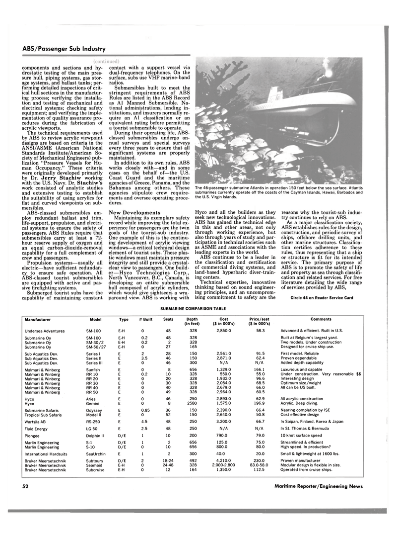 Maritime Reporter Magazine, page 48,  Jun 1989