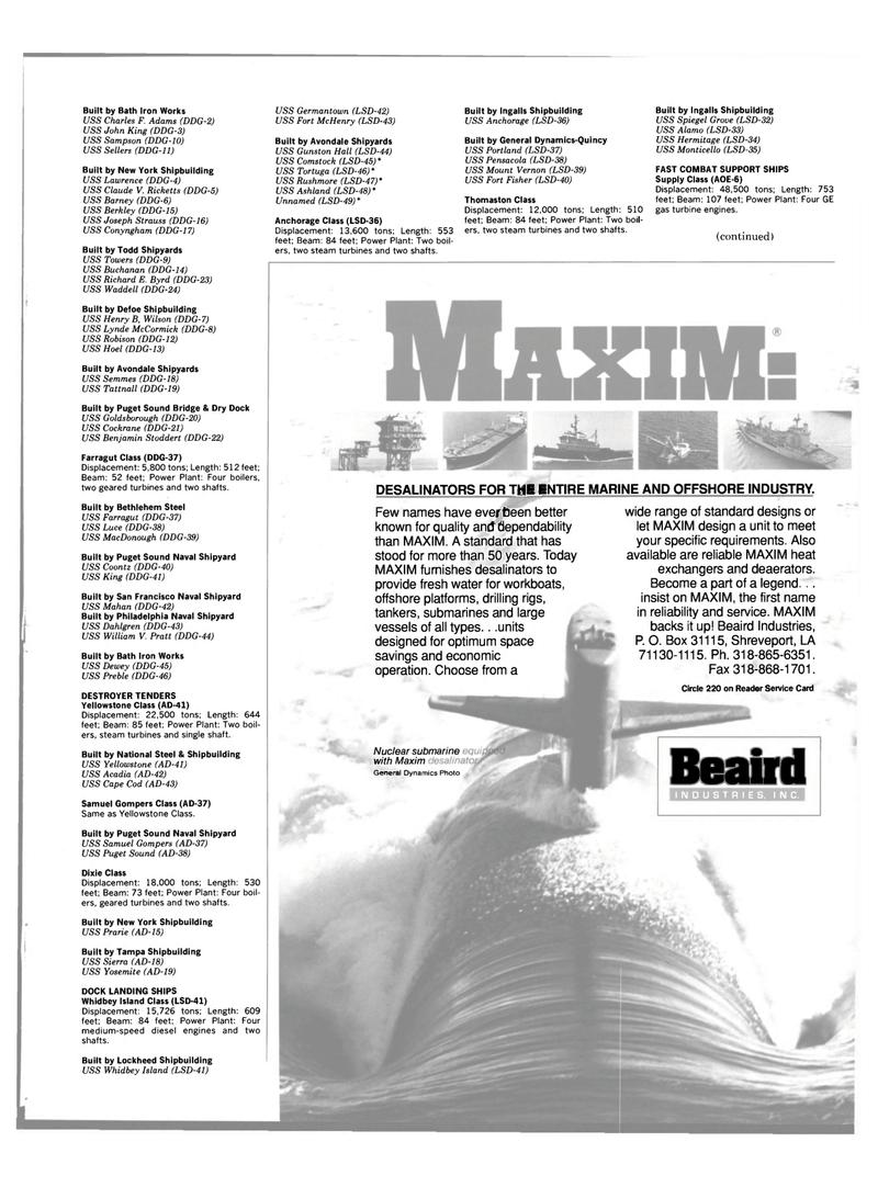 Maritime Reporter Magazine, page 55,  Jun 1989