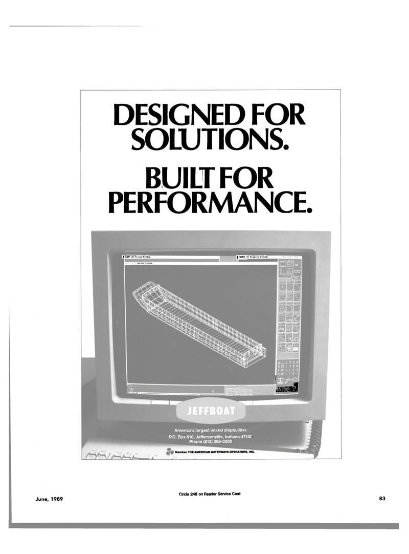 Maritime Reporter Magazine, page 79,  Jun 1989
