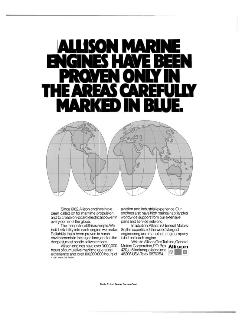 Maritime Reporter Magazine, page 22,  Jul 1989 manufacturing