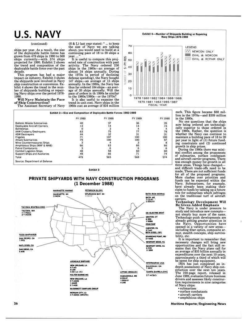 Maritime Reporter Magazine, page 24,  Jul 1989 California