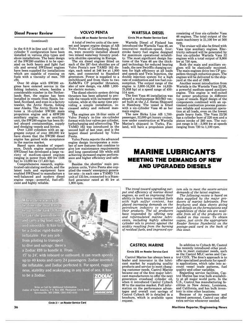 Maritime Reporter Magazine, page 34,  Jul 1989 California