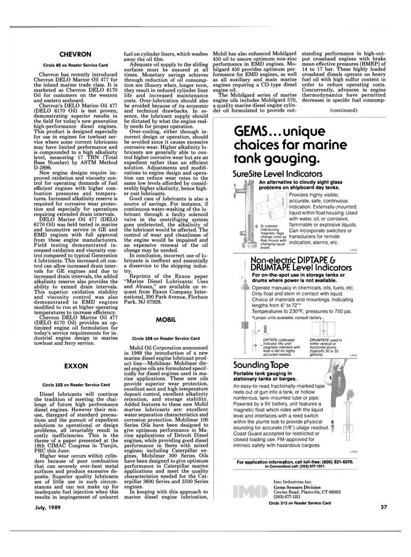 Maritime Reporter Magazine, page 35,  Jul 1989 New Jersey