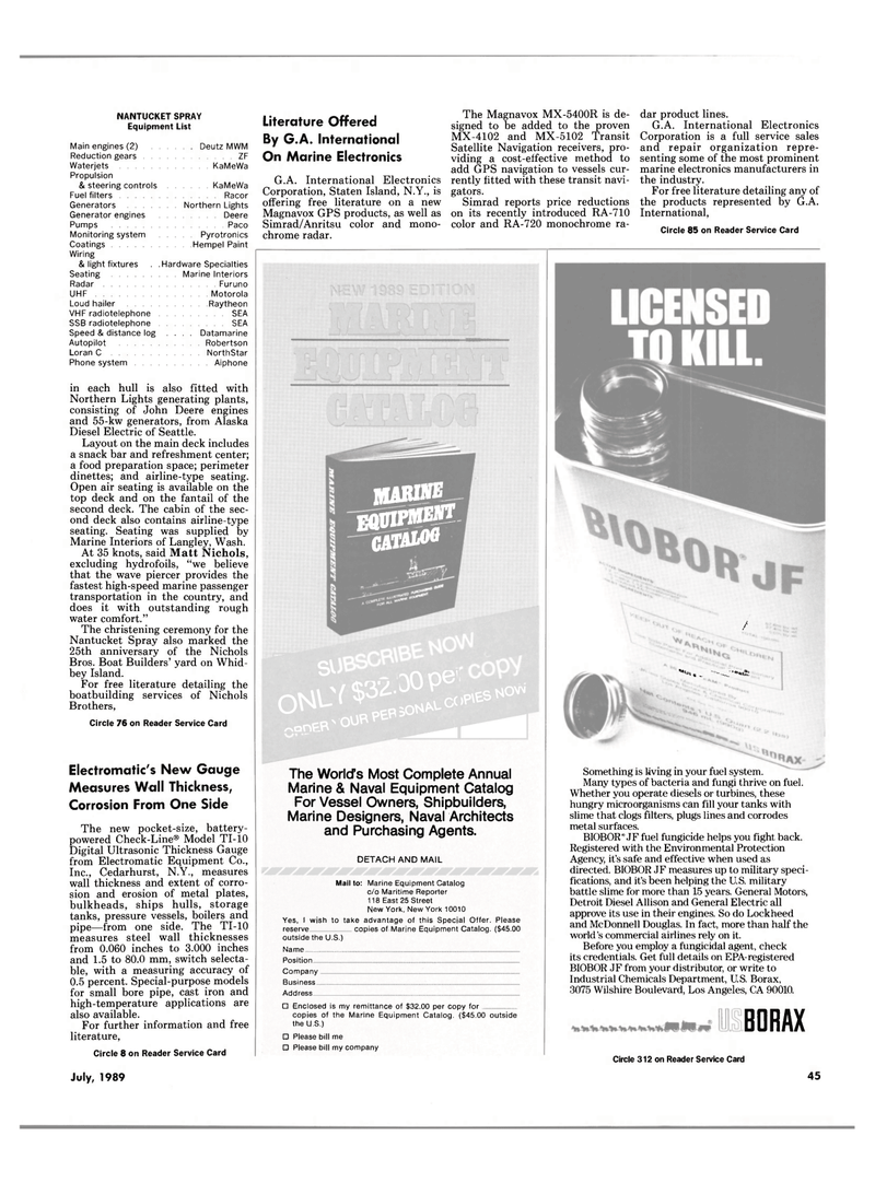 Maritime Reporter Magazine, page 43,  Jul 1989 Alaska