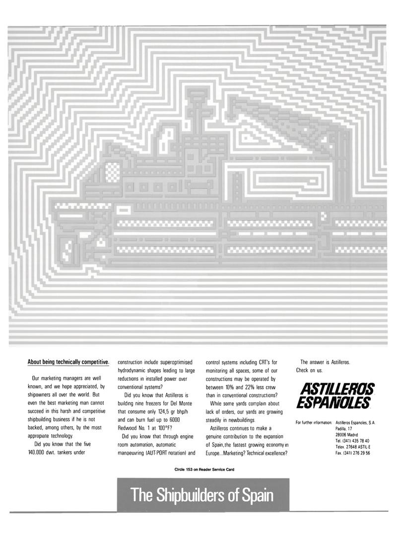 Maritime Reporter Magazine, page 3rd Cover,  Jul 1989 Padilla