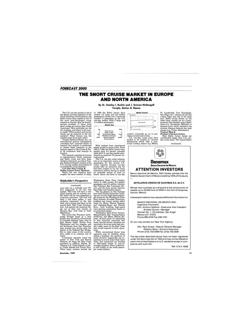 Maritime Reporter Magazine, page 15,  Dec 1989