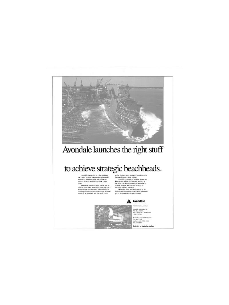 Maritime Reporter Magazine, page 24,  Dec 1989