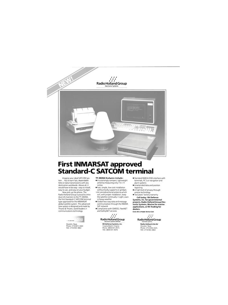 Maritime Reporter Magazine, page 34,  Dec 1989