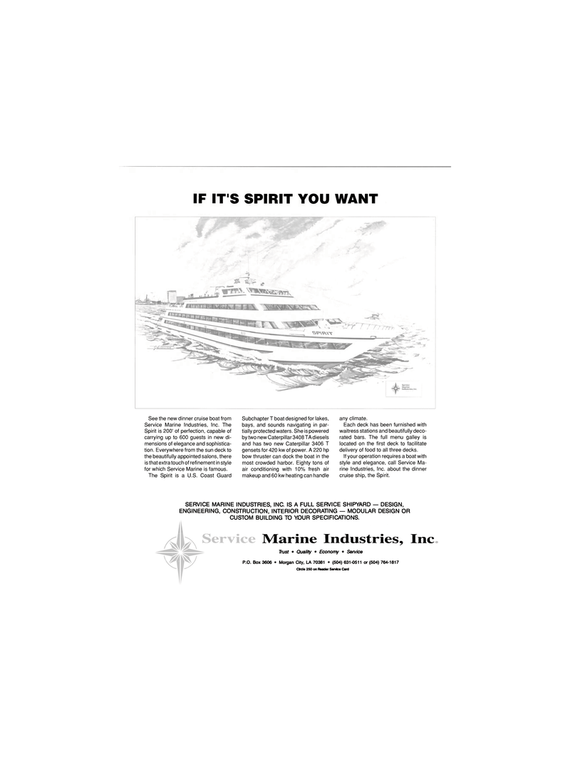 Maritime Reporter Magazine, page 3rd Cover,  Dec 1989