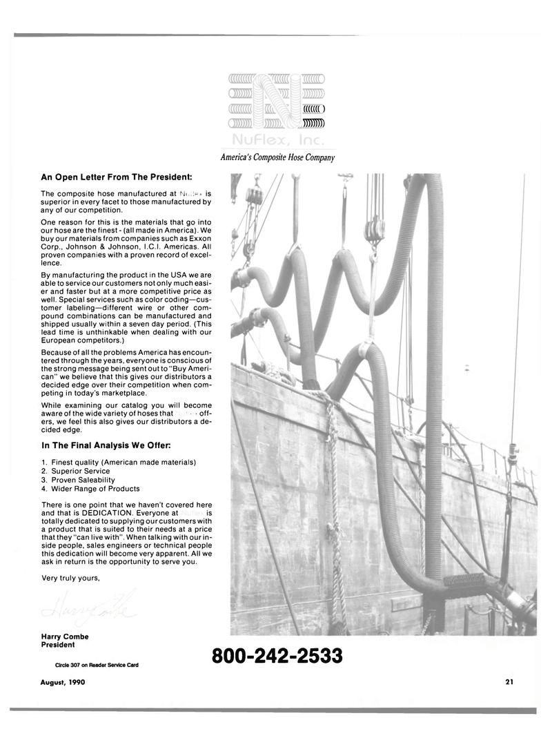 Maritime Reporter Magazine, page 21,  Aug 1990 I.C.I. Americas