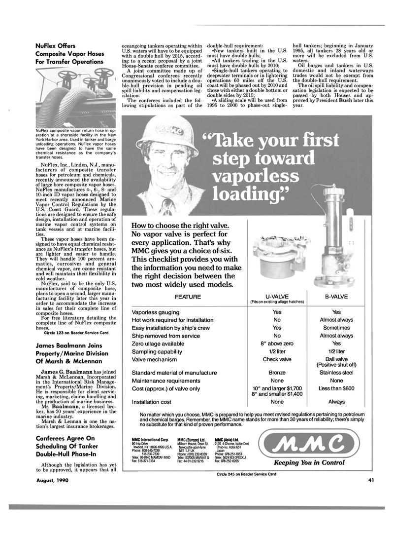 Maritime Reporter Magazine, page 41,  Aug 1990 Dean St Newcastle