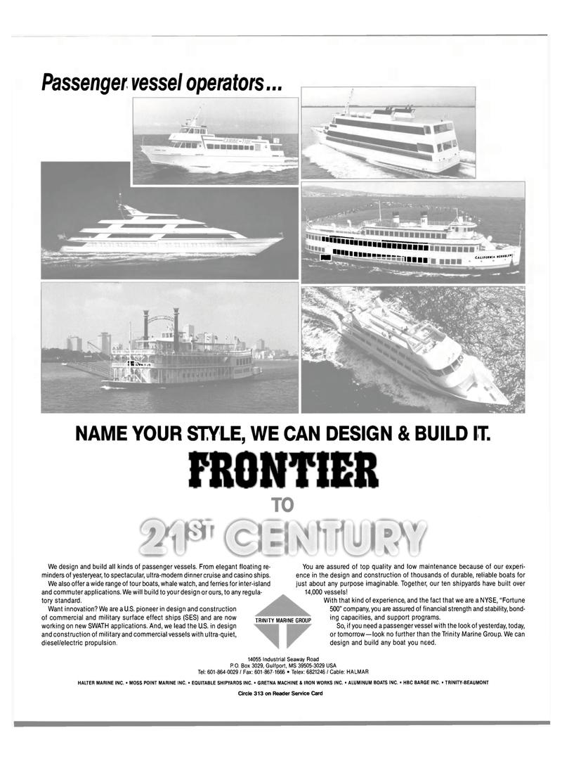 Maritime Reporter Magazine, page 3,  Aug 1990 Gulf port