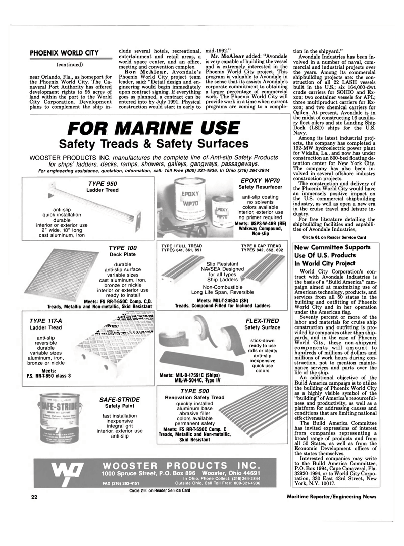 Maritime Reporter Magazine, page 20,  Sep 1990 retail areas