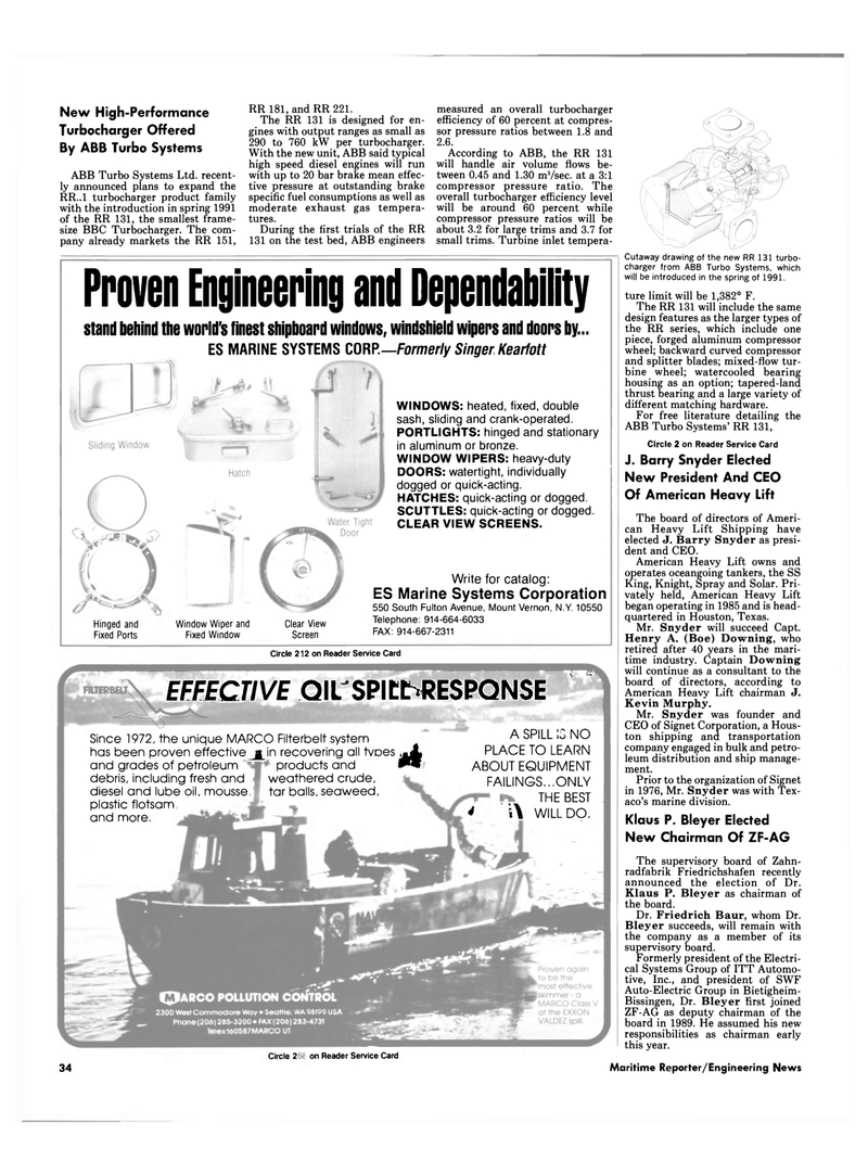 Maritime Reporter Magazine, page 32,  Sep 1990 Knight