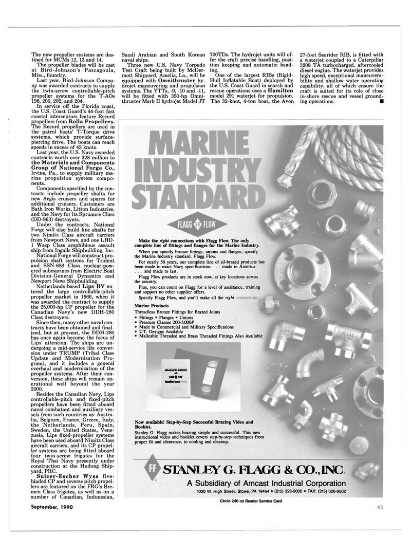 Maritime Reporter Magazine, page 41,  Sep 1990 Pennsylvania