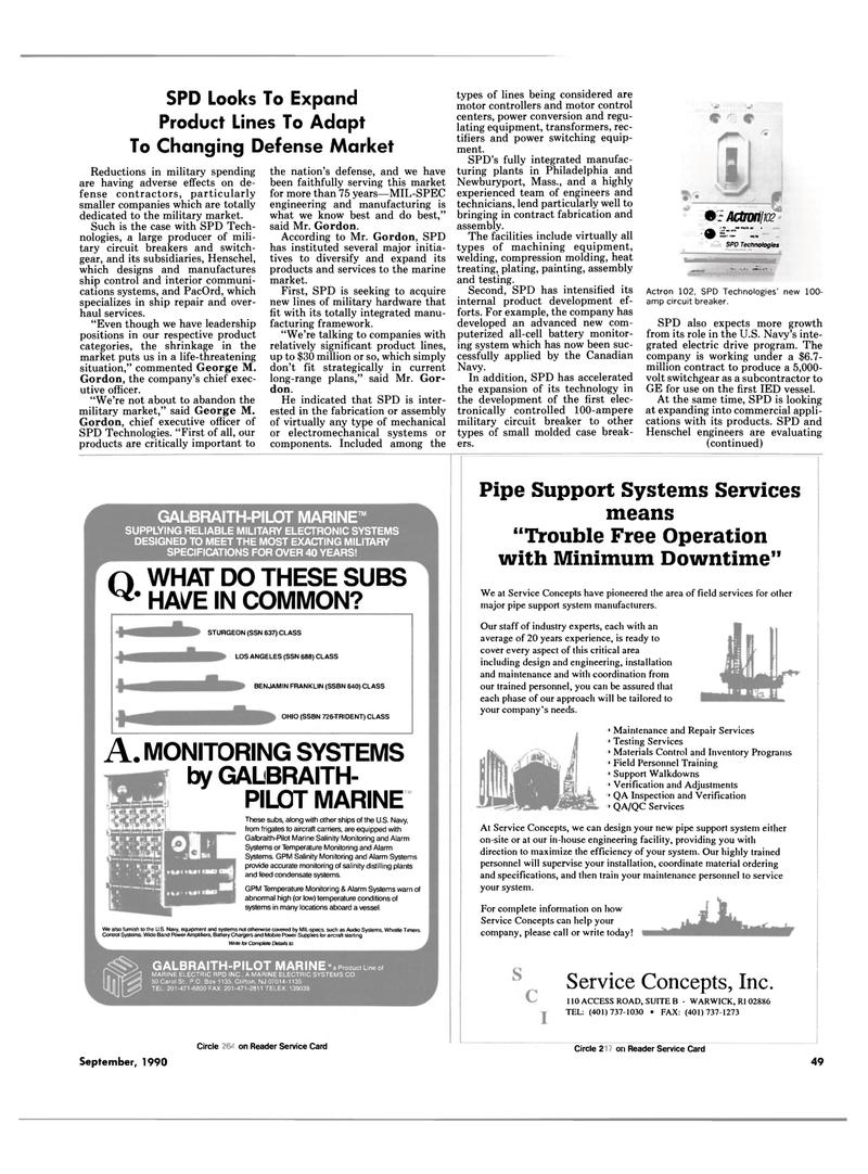Maritime Reporter Magazine, page 47,  Sep 1990 Massachusetts