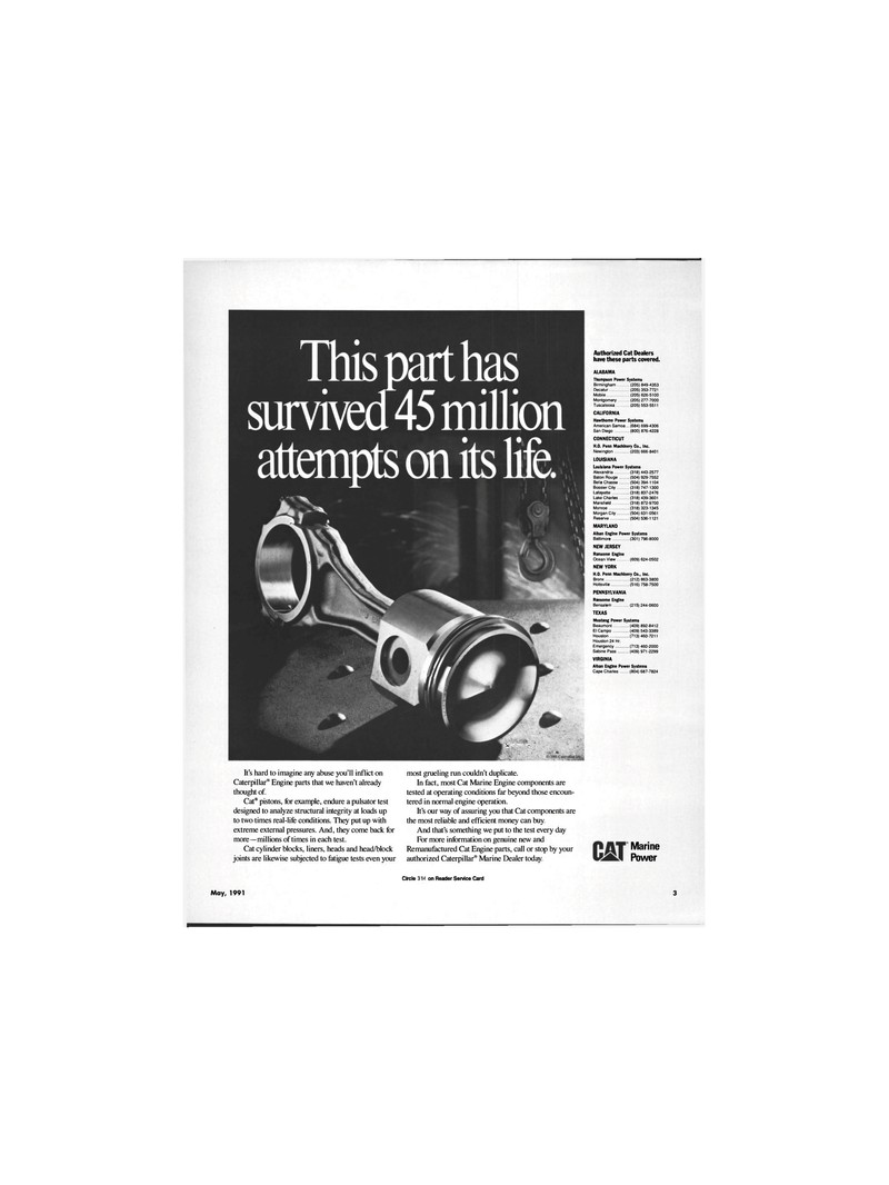 Maritime Reporter Magazine, page 1,  May 1991