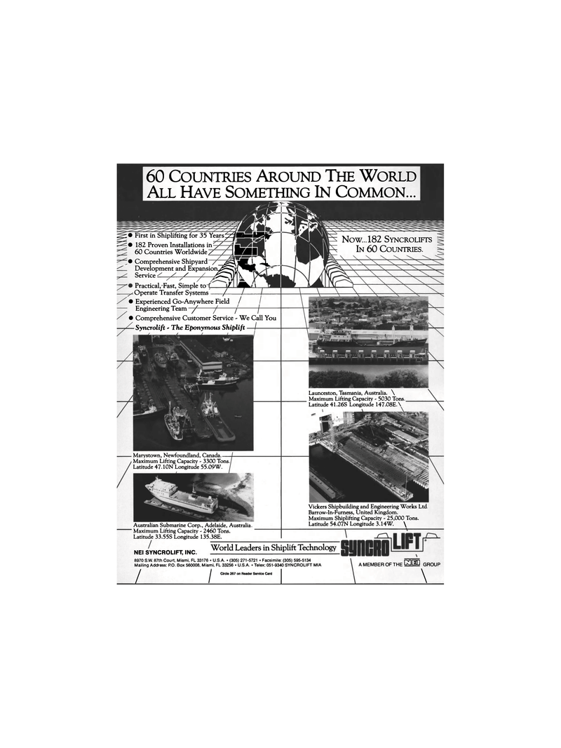 Maritime Reporter Magazine, page 5,  May 1991