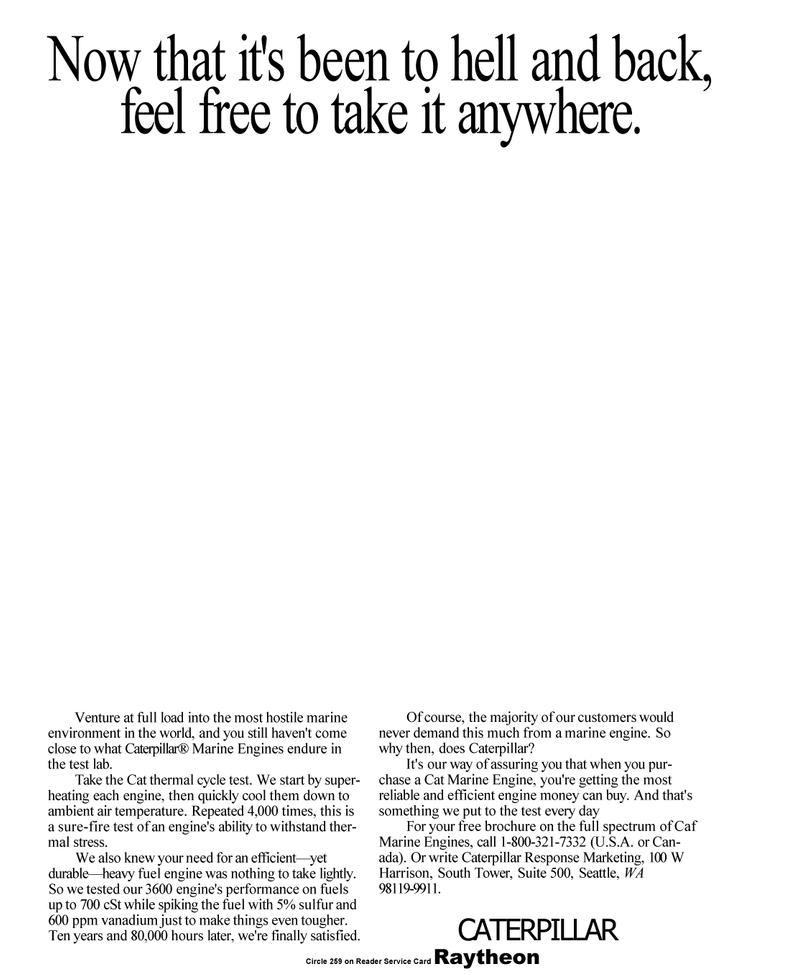 Maritime Reporter Magazine, page 17,  Mar 1992