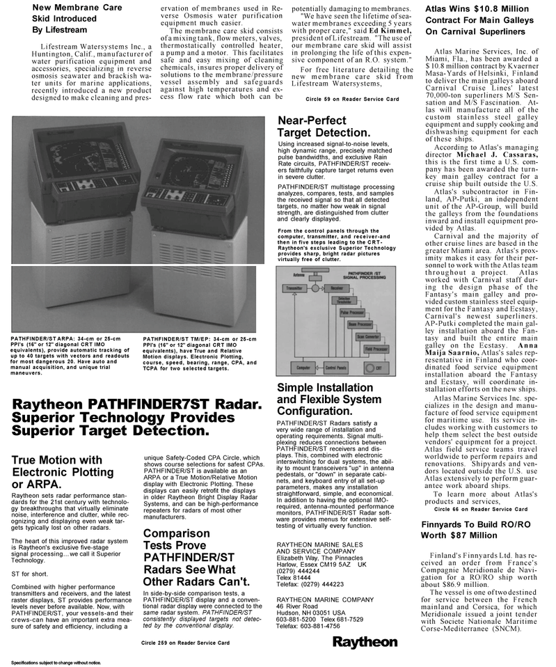 Maritime Reporter Magazine, page 4,  Mar 1992 Florida